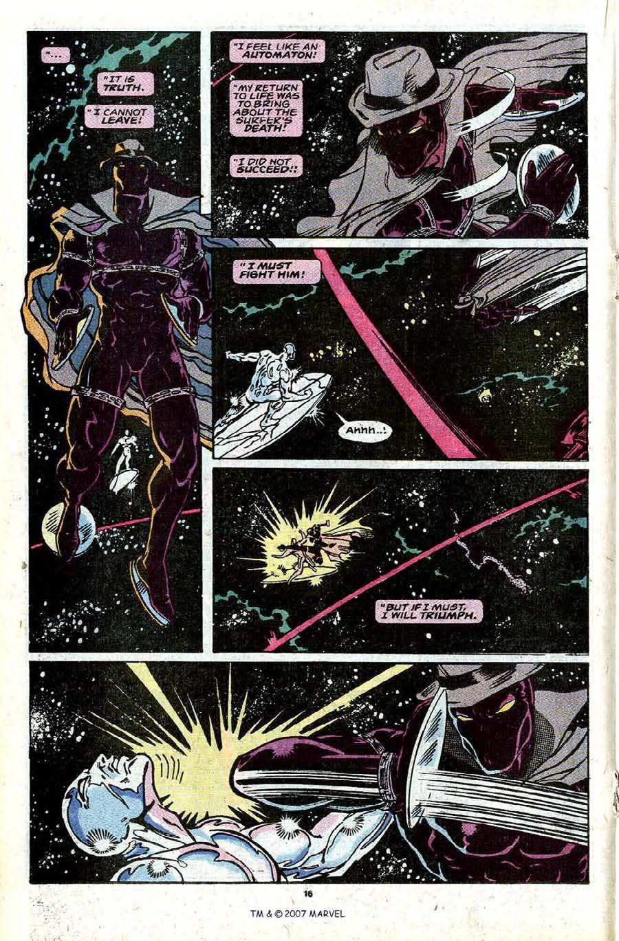 Read online Silver Surfer (1987) comic -  Issue #30 - 18