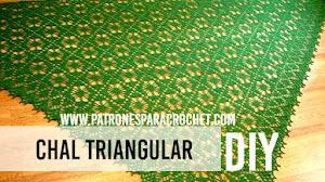 Chal triangular / Patrones y tutoriales