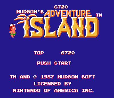 La pantalla del título.
