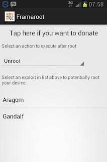 Cara Unrooting Android 4.2 Dengan Framaroot