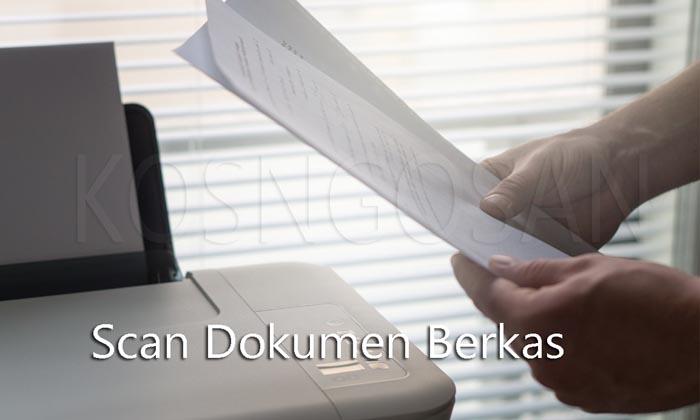 cara scan dokumen ijazah
