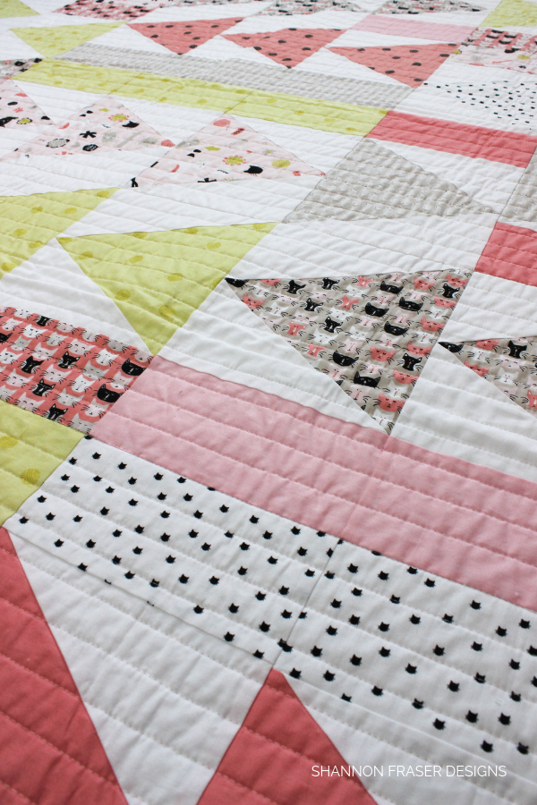 Flight Plan - a modern quilt by Shannon Fraser Designs
