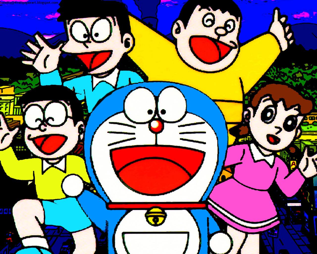 Wallpaper For PC Desktop And Handphone Doraemon