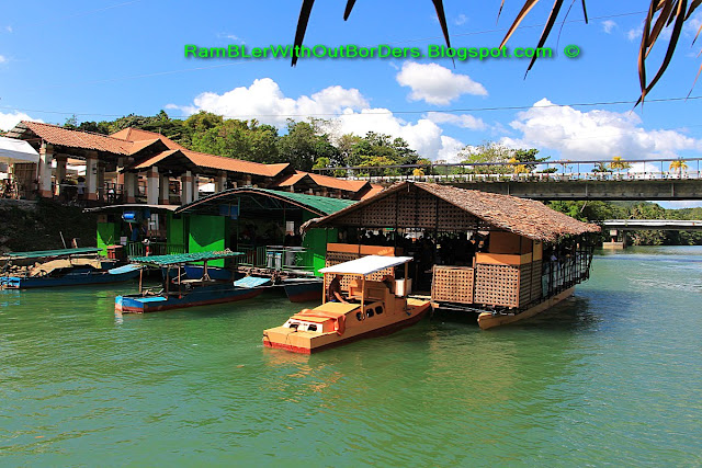 Catamarans, Lunch river cruises, Loboc River, Bohol, Philippines