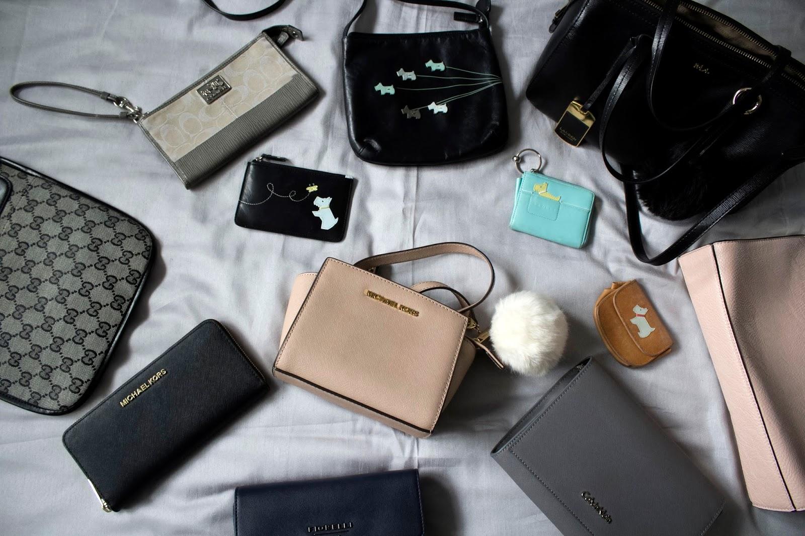 4f5d80b325 My Handbag Haul
