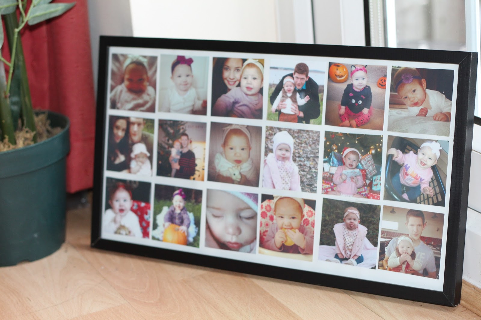 how to put multiple photos in one frame