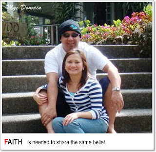 faith is needed to share the same belief