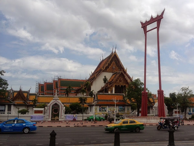 Wat Suthat Temple and the Giant Swing in Bangkok's old town