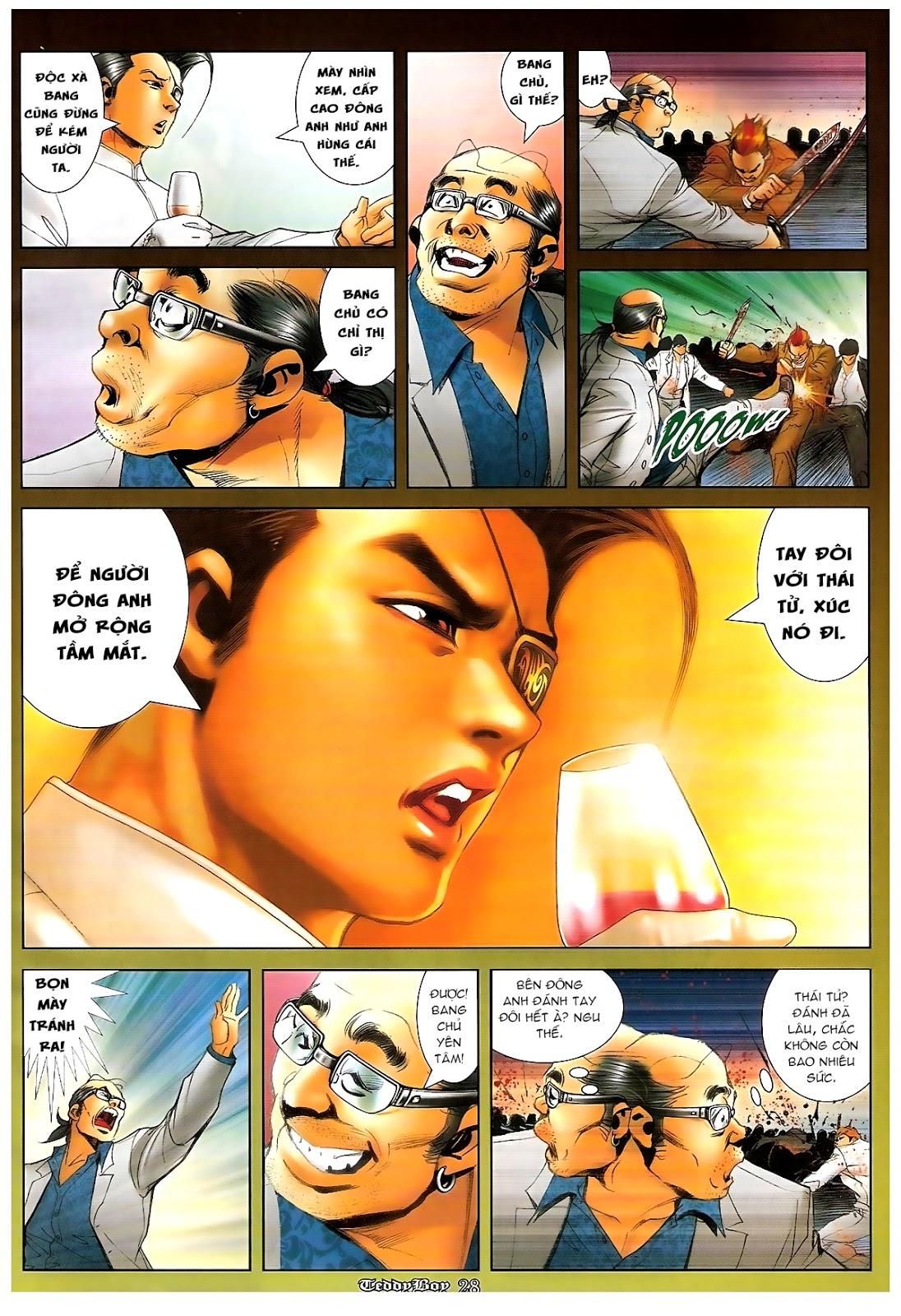 Người Trong Giang Hồ - Chapter 1227: Thái Tử Chung Cực Chiến - Pic 24