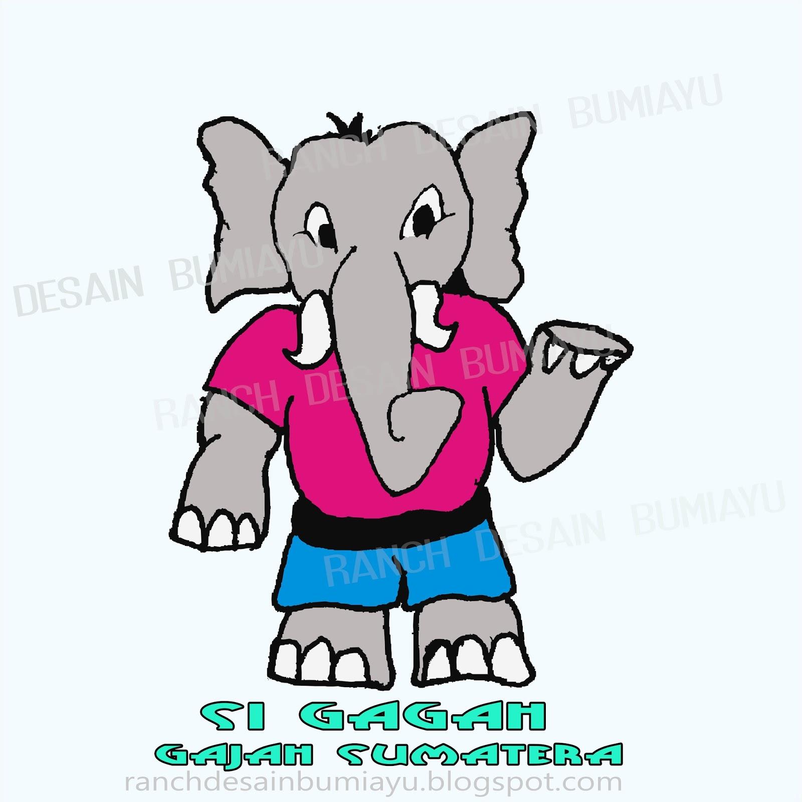 Gambar Lucu Kartun Gajah Pos Dp Bbm