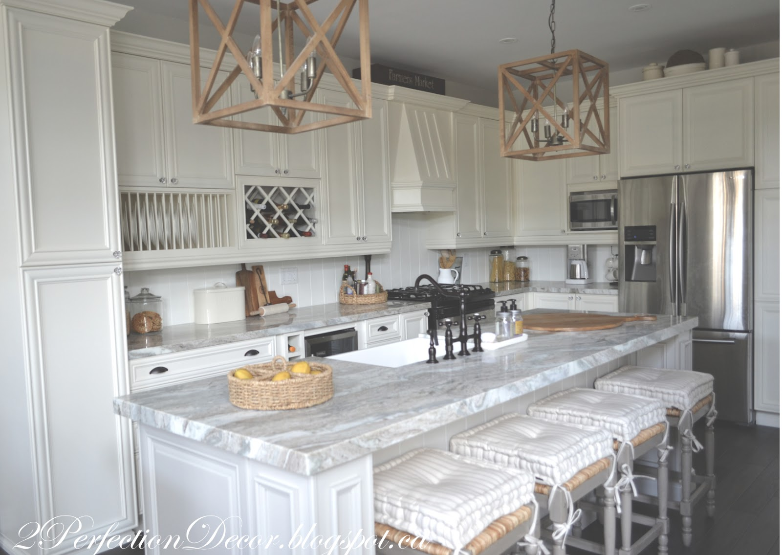 Superb 2Perfection Decor Farmhouse Kitchen Reveal Download Free Architecture Designs Scobabritishbridgeorg