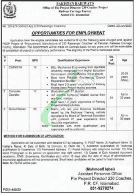 pakistan-railways-jobs-july-2020-application-form