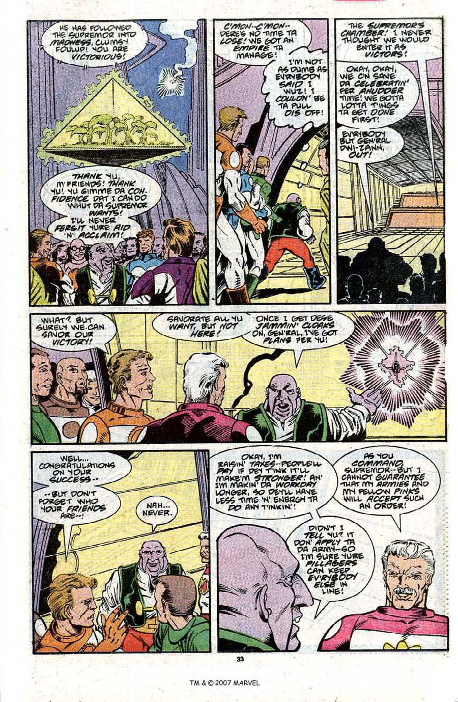 Read online Silver Surfer (1987) comic -  Issue #31 - 35
