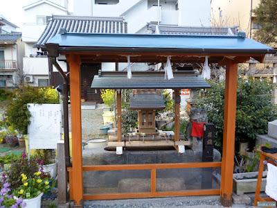 蒲田神社手水舎