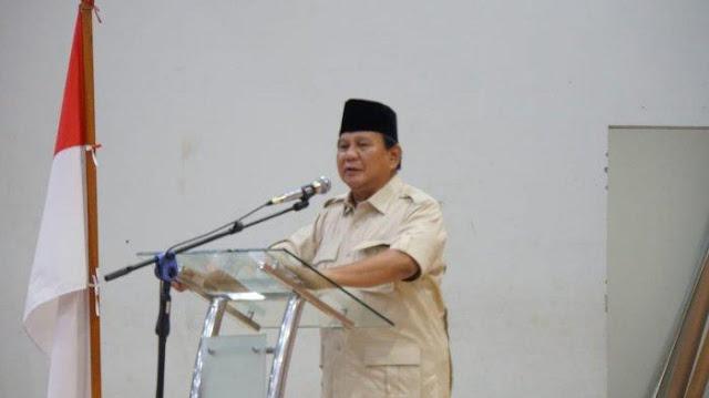 Prabowo: Elite <i>Rai Gedhek</i>, Nyolong tapi Mukanya Sok Tak Berdosa