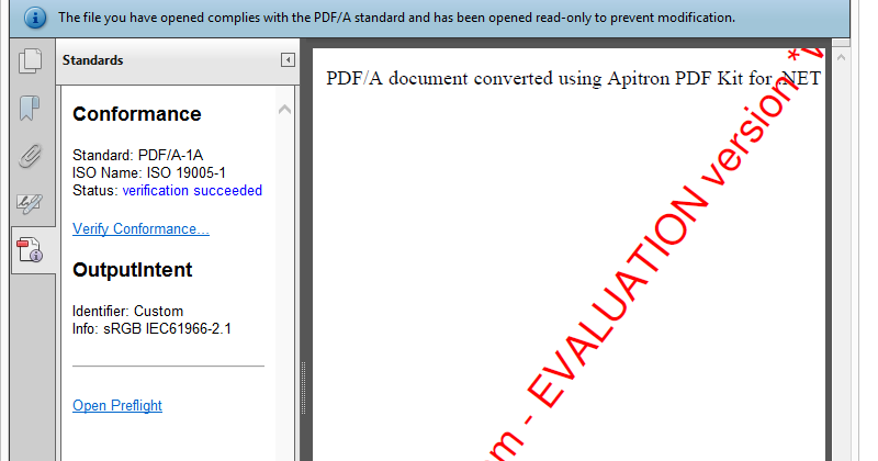 PDF tips & tricks: Converting PDF documents to PDF/A (C# sample)