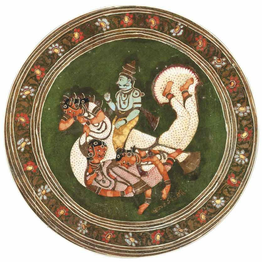 Illustrations of Hindu Gods, Goddesses and Animal Figures