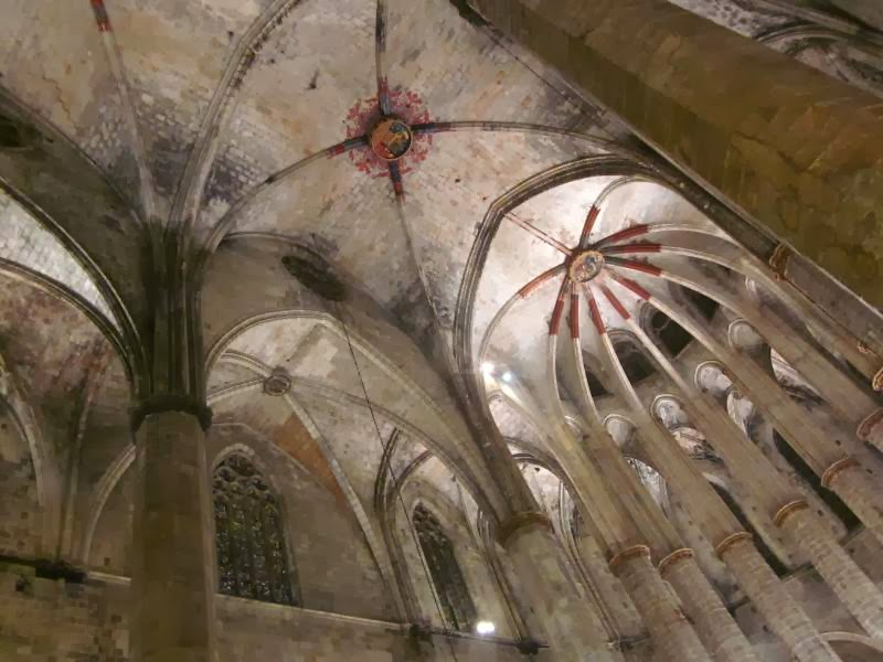 Iglesia de Santa Maria del Mar en Barcelona