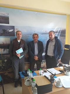 Συνάντηση του βουλευτή Γιάννη Στέφου με τον πρόεδρο του Φορέα Διαχείρισης της Λίμνης Παμβώτιδας