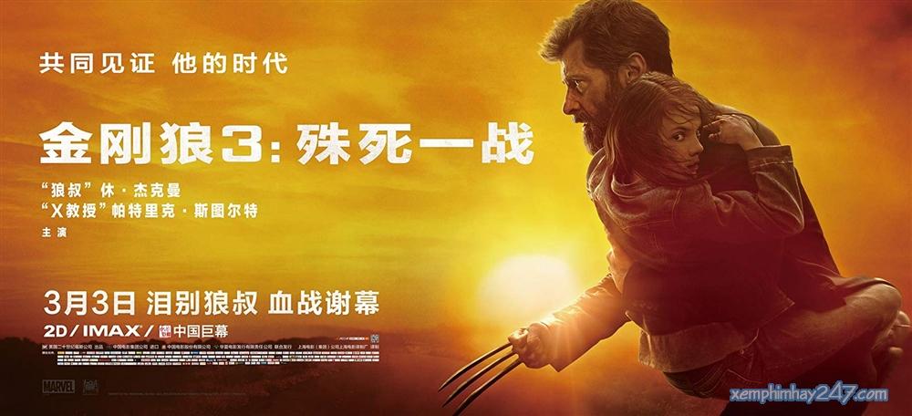 http://xemphimhay247.com - Xem phim hay 247 - Người Sói: Trận Chiến Cuối Cùng (2017) - Logan (2017)