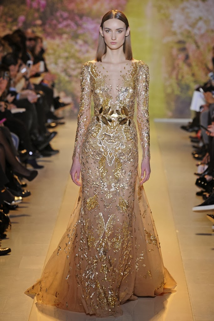 Avondjurken Le Couture.Zuhair Murad Spring Summer 2014 Couture Luxury Passion