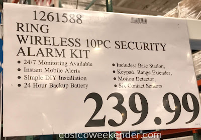 Deal for the Ring Alarm Home Security System at Costco