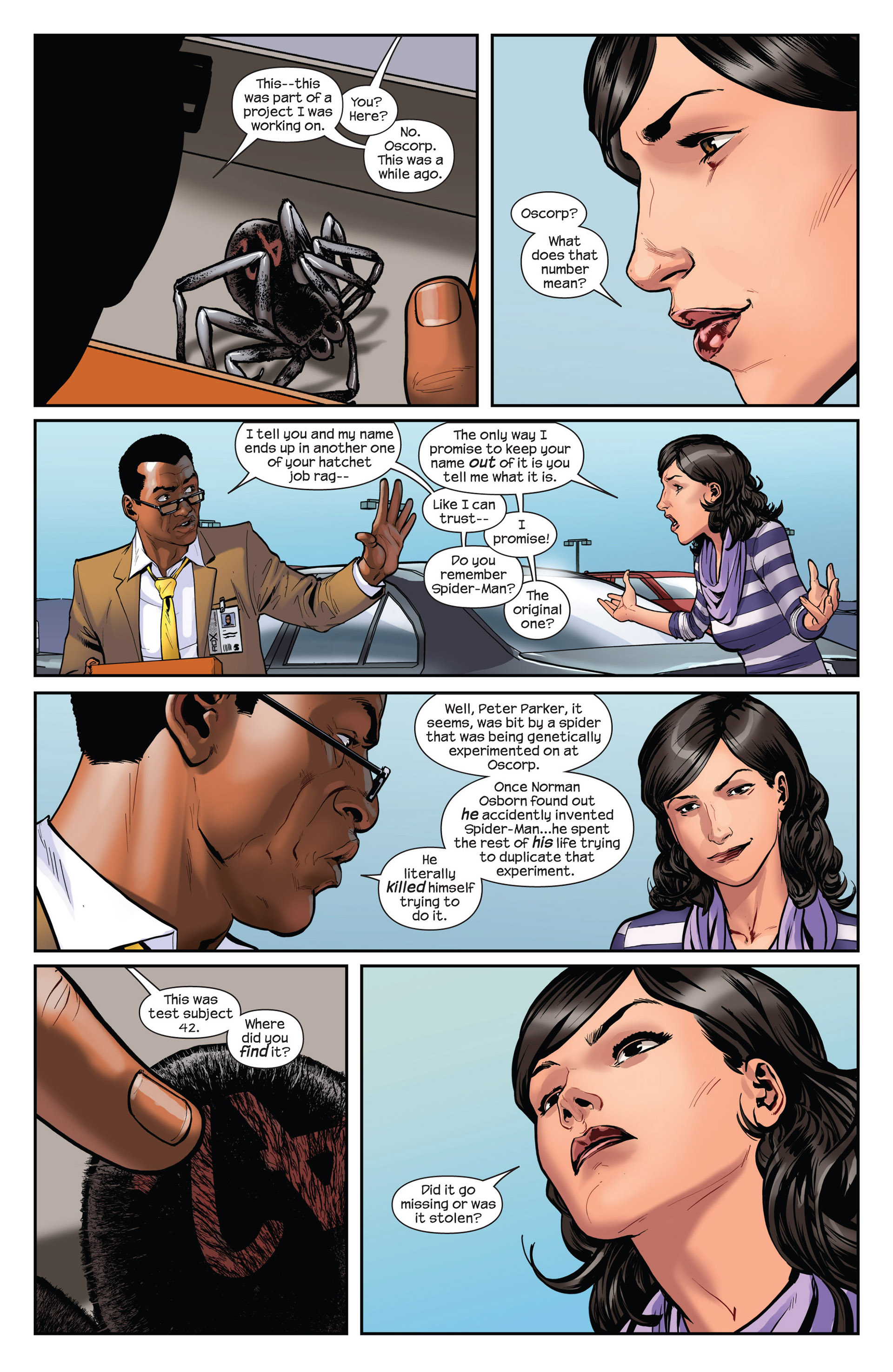 Read online Ultimate Comics Spider-Man (2011) comic -  Issue #16.1 - 12
