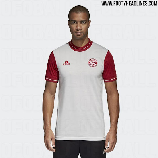 newest 8d0a6 c7bdf Adidas FC Bayern München 2018 Retro Jersey Leaked ...