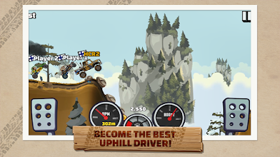 Download Game Hill Climb Racing 2  Mod (Unlimited Coins + Unlock All Vehicles) Offline