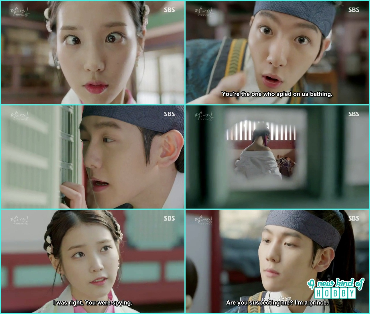 Moon lovers scarlet heart ryeo episode 2 2016 - Hae So Caught 10th Prince Peeking In The Maids Room Moon Lovers Scarlet Heart