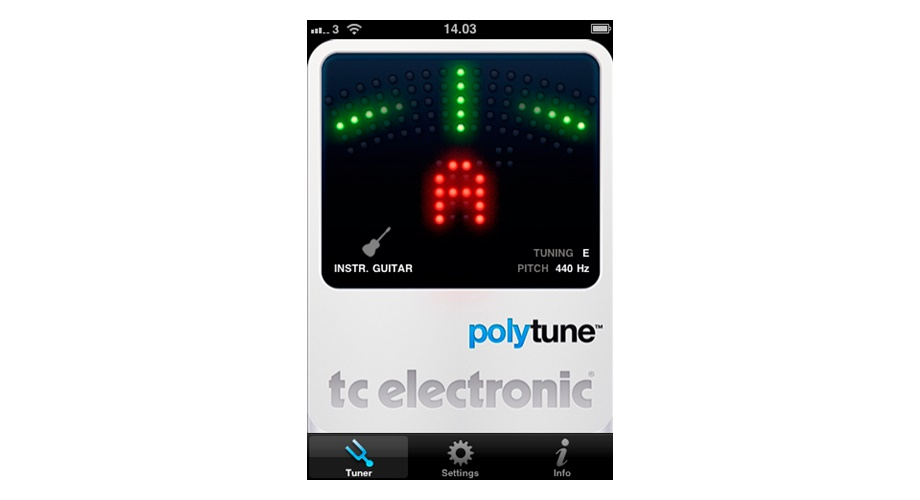 rex and the bass tc electronic polytune iphone guitar tuner app review. Black Bedroom Furniture Sets. Home Design Ideas