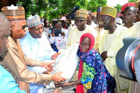 Bill Gates donates $1m worth of food, farming aides to Borno state residents