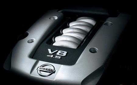 82. Japońskie V8: Nissan.  日本車 日産 インフィニティ staryjaponiec