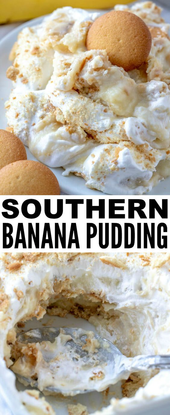 When it comes to desserts this Southern Banana Pudding is a classic and easy recipe that is completely homemade, feeds a crowd and is super addicting!