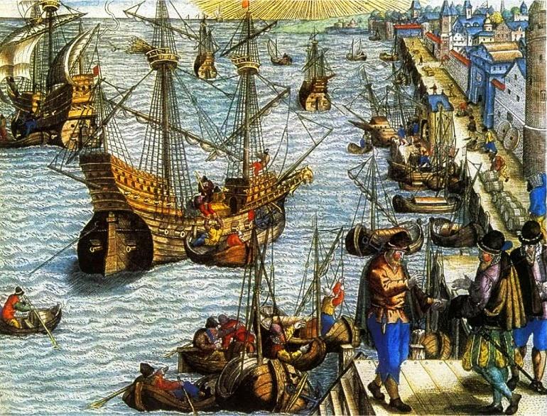 O francês Binot Paulmier de Gonneville chegou à região de São Francisco do Sul em 1504