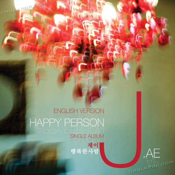[Single] J.ae – Happy person (English ver)