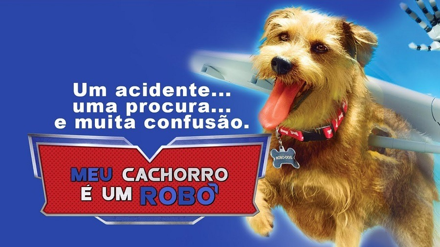Filme Meu Cachorro é um Robô Dublado para download por torrent 720p Bluray HD
