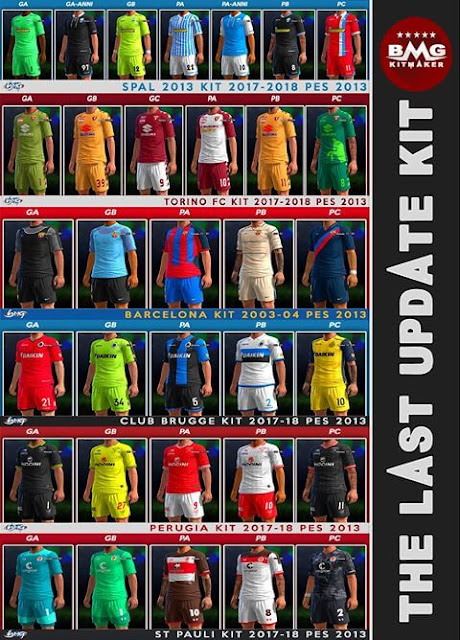 PES 2013 The Last Update Kitpack 2018