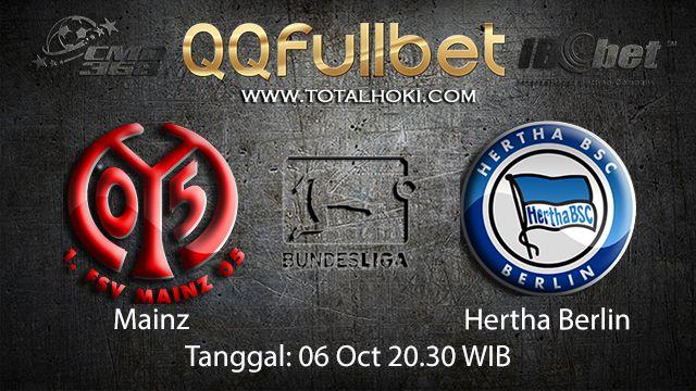Prediksi Bola Jitu Mainz vs Hertha Berlin 6 Oktober 2018 ( German Bundesliga )