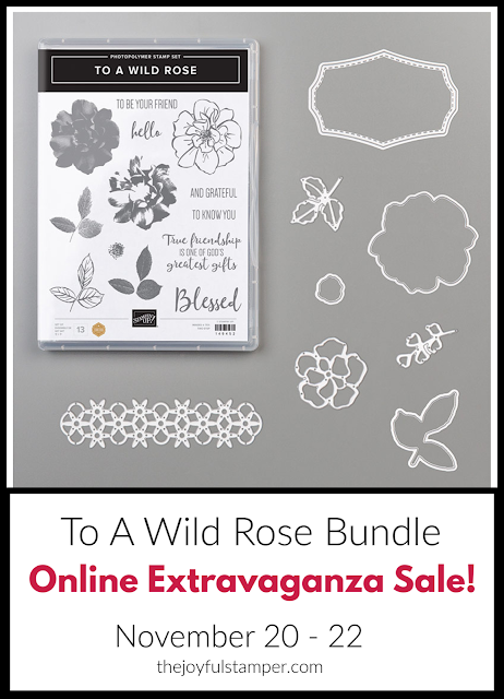 To A Wild Rose bundle - Online Extravaganza Sale