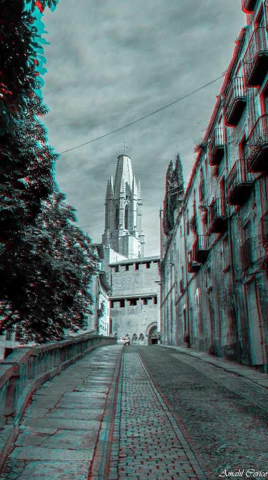 Anaglyph: Girona | Pixelographic