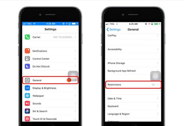 Cara jitu blokir situs web di safari iPhone untuk menjaga buah hati anda 1