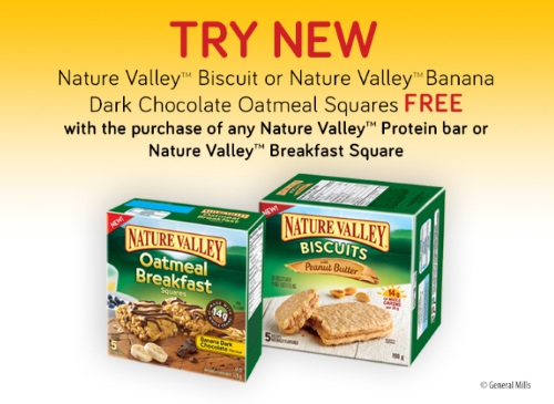 Nature Valley BOGO Buy 1 Get 1 Free Coupon