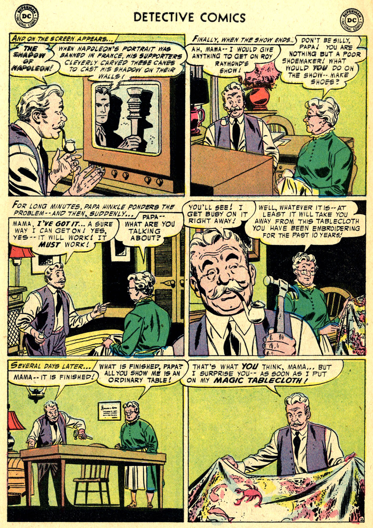 Read online Detective Comics (1937) comic -  Issue #236 - 28
