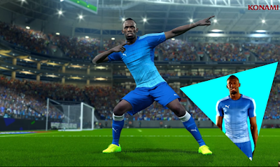 Konami Menambahkan Usain Bolt Pada Pro Evolution Soccer 18