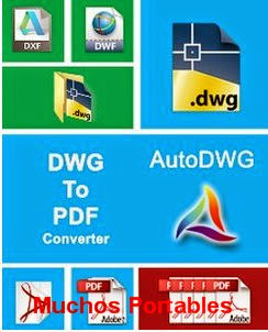 AutoDWG DWG to PDF Converter Portable