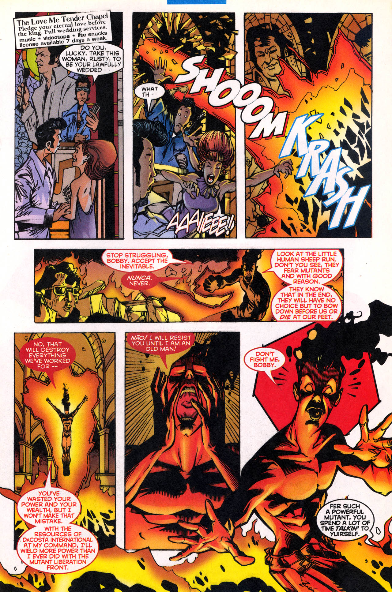 Read online X-Force (1991) comic -  Issue #80 - 18