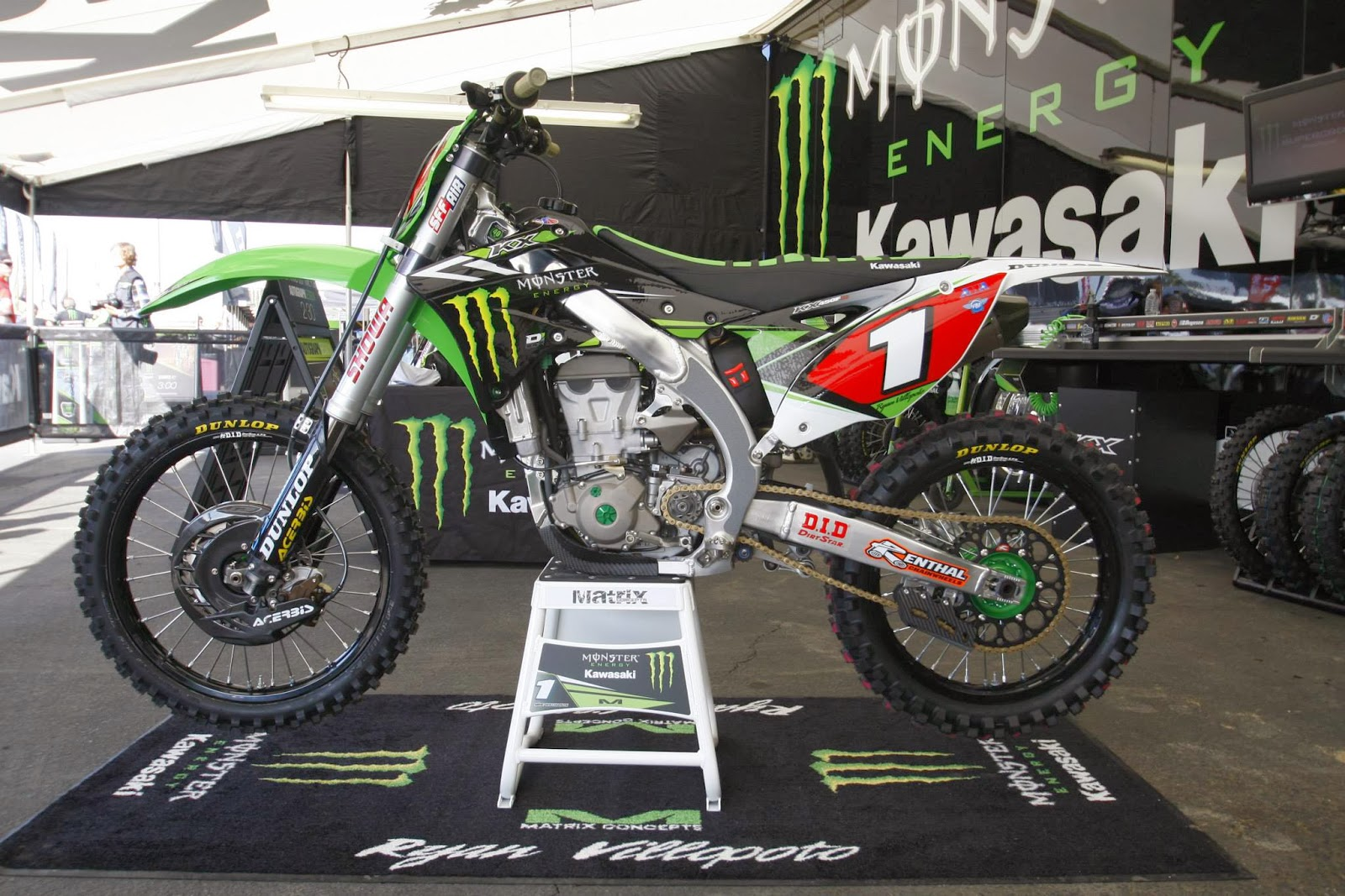Monster Energy Kawasaki Bedding