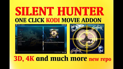Silent Hunter is Best choise to watching 4K Movies On Kodi