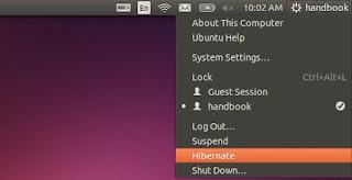 Hibernacija Ubuntu Linux trikovi